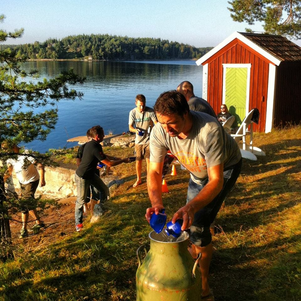 Kul Kick off aktivitet i Stockholms skärgård